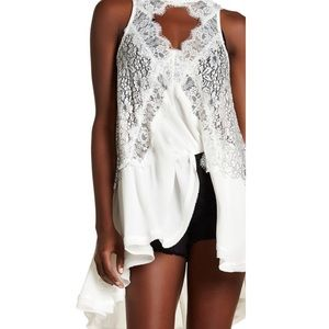 NWT Free People Tell Tale Sleeveless Tunic, M